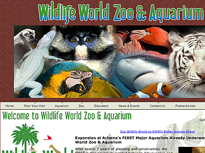 Wildlife World Zoo and Aquarium