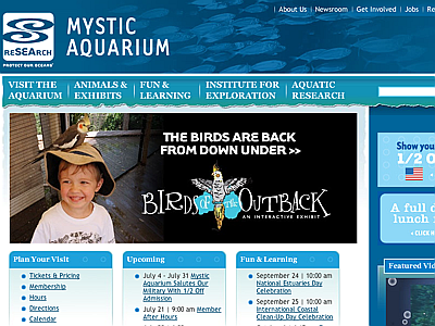 Mystic Marinelife Aquarium