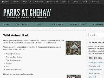 Chehaw Wild Animal Park