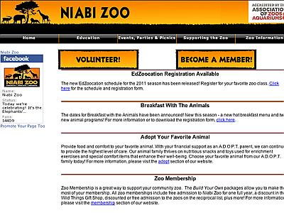 Niabi Zoological Society