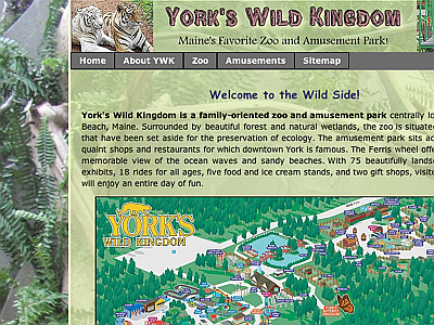 York Wild Kingdom Zoo